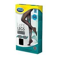 Scholl Kompresné pančuchové nohavice čierne 20 Deň Light LEGS ™ L