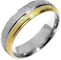 Silvego Snubný oceľový prsteň Flers RRC0365 57 mm