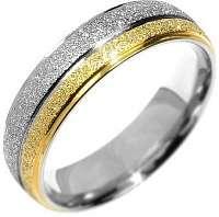 Silvego Snubný oceľový prsteň Flers RRC0365 63 mm