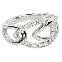 Silver Cat Strieborný prsteň so zirkónmi SC192 mm