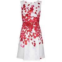 Smashed Lemon Dámske krátke šaty Red 18073/04 L