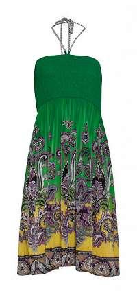 Smashed Lemon Dámske šaty Yellow / Green 19011 S