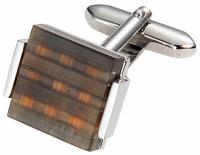 Starck Schmuck Manžetové gombíky Hnedé mačacie oko.160R-C19 +