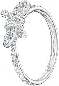 Swarovski Trblietavý prsteň s mašličkou LIFELONG74934 mm