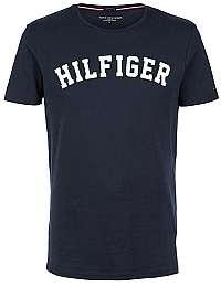 Tommy Hilfiger Pánske tričko Cotton Icon SS Tee Logo Navy Blazer UM0UM00054-416 XL