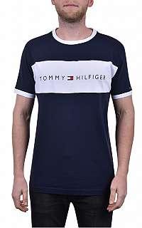 Tommy Hilfiger Pánske tričko Tommy Original Cn Ss Tee Logo Flag UM0UM01170-416 Navy Blazer M