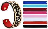 Troli Oceľový náramok s vymeniteľnými farbami 20 mm I.