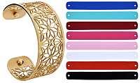 Troli Oceľový náramok s vymeniteľnými farbami mm XI.