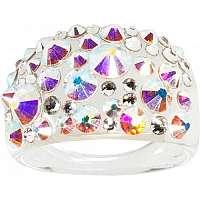 Troli Prsteň Bubble Crystal AB 56 mm