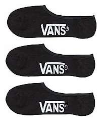 VANS 3 PACK - členkové ponožky Class ic Super No Show,5-47