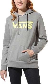 VANS Dámska mikina WM Class ic V Hood ie Grey Heather VN0A4DRDGRH1 L