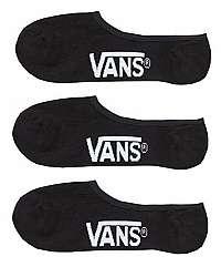 VANS Sada členkových ponožiek 3 ks Class ic Super No Show,5-42