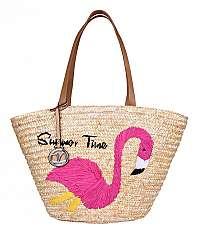 Verde Dámska taška-0009 Straw Natural