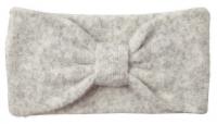 Vero Moda Dámska čelenka VMTRINE WOOL Headband Light Grey Melange