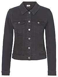 Vero Moda Dámska džínsová bunda VMHOT SOYA 10193085 Black S