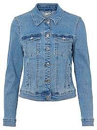 Vero Moda Dámska džínsová bunda VMHOT SOYA 10193085 Light Blue Denim XS