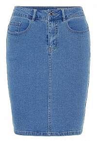 Vero Moda Dámska sukňa VMHOT NINE 10193076 Light Blue Denim L