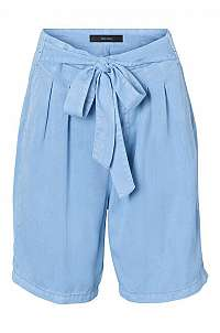 Vero Moda Dámske kraťasy Mia HR Loose Summer Long Shorts Light Blue Denim XS