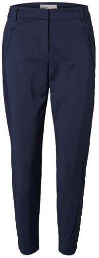 Vero Moda Dámske nohavice VMVICTORIA NW ANTIFIT ANKLE PANTS NOOS Navy Blazer XS