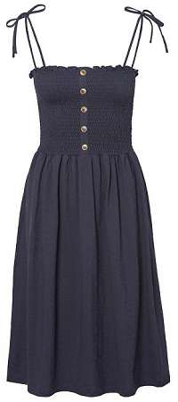 Vero Moda Dámske šaty Aria Sl Blk Dress Night Sky XL
