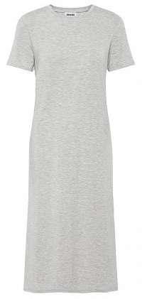 Vero Moda Dámske šaty Gava Ss Dress Wma Noos Light Grey Melange XS
