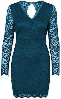 Vero Moda Dámske šaty Lucia Ls Short Dress Boo Ki Gibraltár Sea L