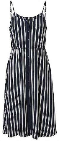 Vero Moda Dámske šaty Sasha Singlet Dress Noos Navy Blazer Snow White Coco M