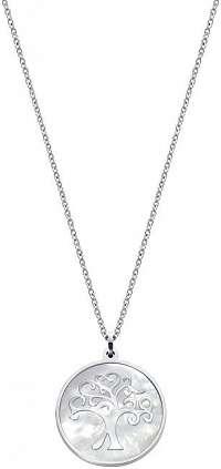 Viceroy Oceľový náhrdelník so stromom života Chic 15016C01000