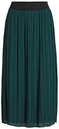 Vila Dámska sukňa VITYSHA plisse SKIRT Pine Grove