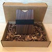 Gunton drevená peňaženka
