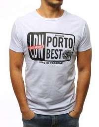 Atraktívne biele tričko PORTO BEST