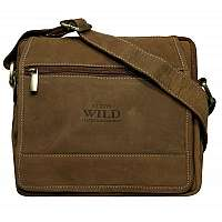 Béžová pánska taška WILD