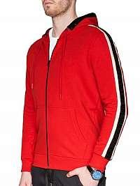 Červená športová mikina b906