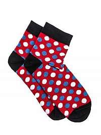 Červené botaskové ponožky U09