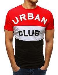 Červené tričko URBAN CLUB