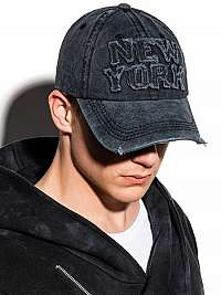 Čierna šiltovka New York H058