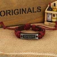 Dream náramok v bordo-hnedom prevedení