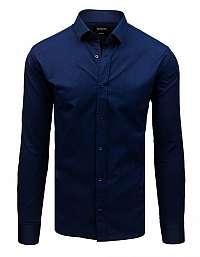 Elegantná granátová košeľa s dlhým rukávom