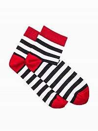 Farebné pásikované ponožk U07