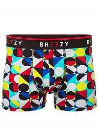 Farebné vzorované pánske boxerky B/88014