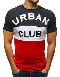Granátové tričko URBAN CLUB
