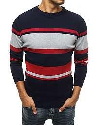 Granátový sveter v štýlovom prevedení