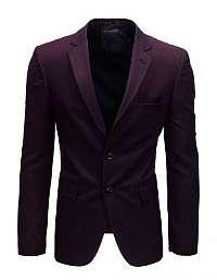 Jedinečné elegantné bordové sako