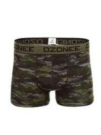 Khaki boxerky v zaujímavom prevedení OZONEE 0953 - XL