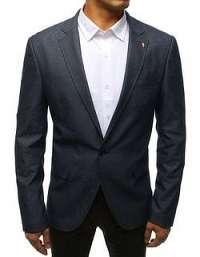 Ležérne pánske sako v granátovej farbe