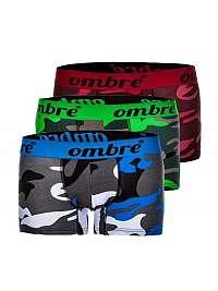 Maskáčové boxerky OMBRE (3 ks) U36