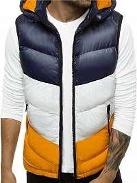Moderná granátová vesta s kapucňou N/6501