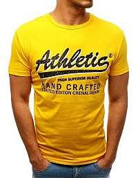 Moderné tričko ATHLETIC žlté