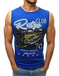 Modré tielko RETRO CLUB