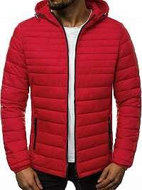 Originálna červená zimná bunda JS/LY1012